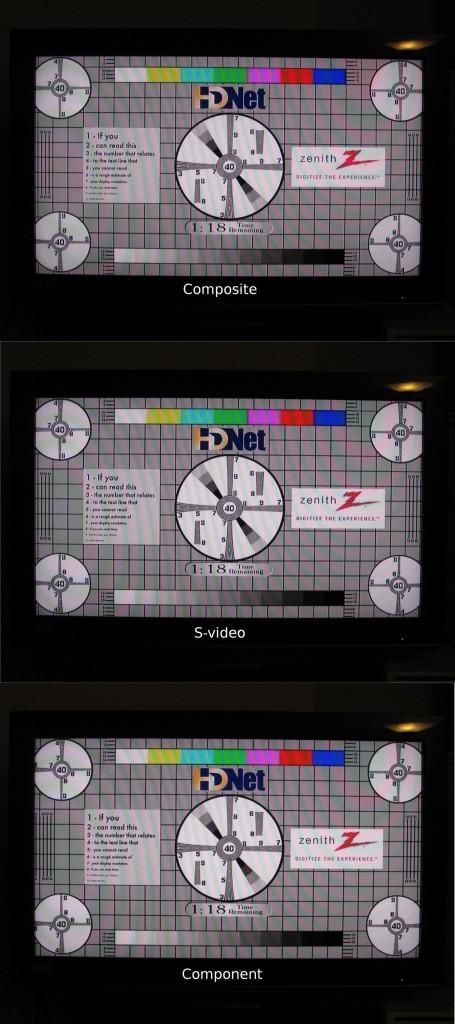 DVD test images