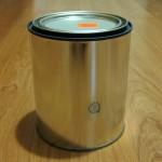 quart can pinhole camera