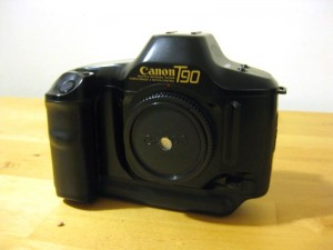 35mm SLR pinhole camera