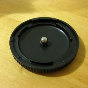 ball bearing in cap