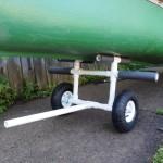 PVC Canoe Cart