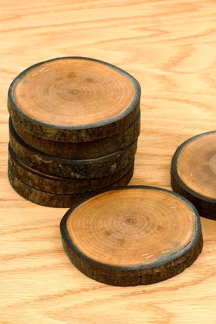 Log Coasters
