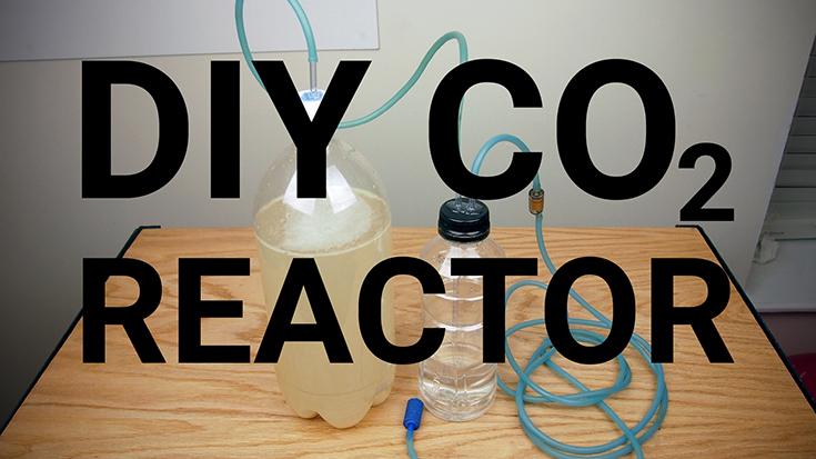 DIY CO2 Reactor