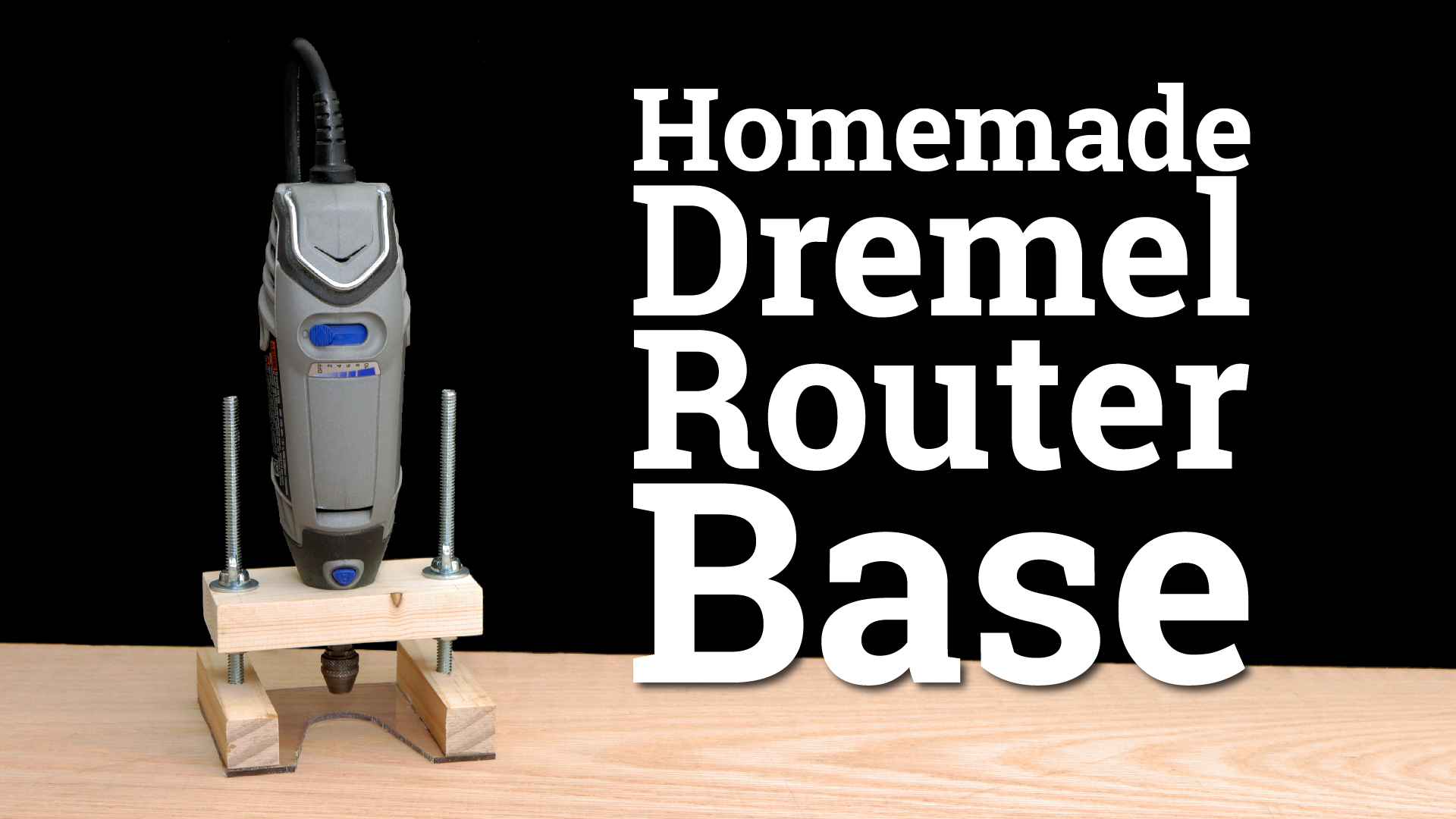 Dremel Router Base Makify Com