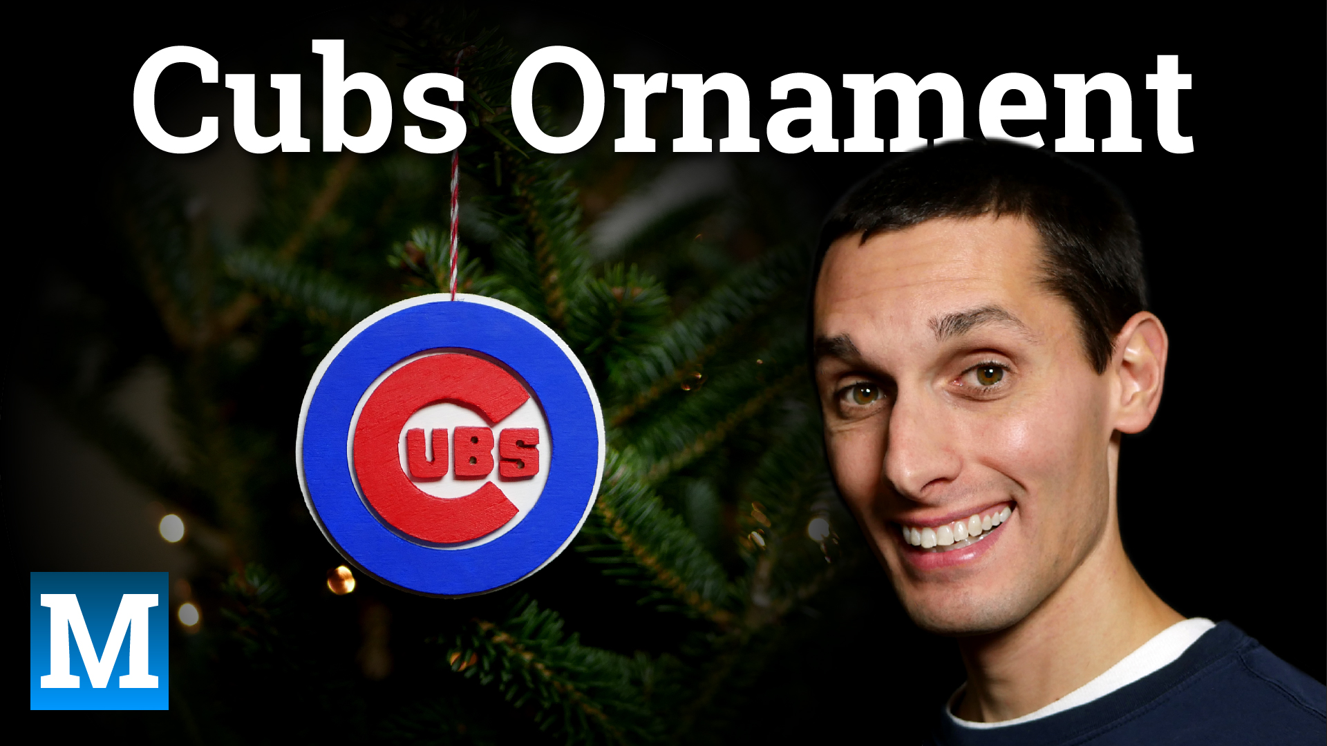 Cubs Ornament