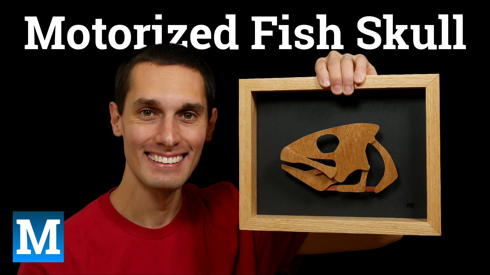 Motorized Fish Skull